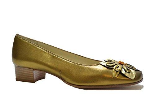 Melluso Decolte' scarpe donna bronzo N035