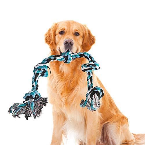 Hundespielzeug, Hundespielzeug Seil, Hundeseil Spielzeug, Hundeseil Unzerstörbar, Hundeseil große Hunde, Interaktives…