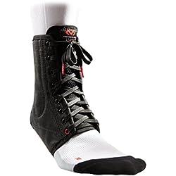McDavid 199 Lightweight Ankle Brace (Black, Large)