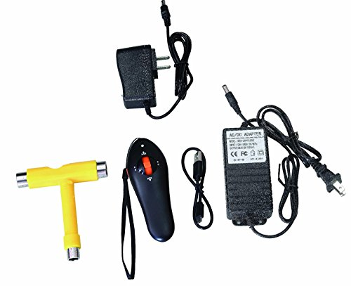 PAG Wireless Remote Control Four Wheels Electric Skateboard Longboard Skate Board hub motors