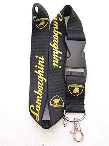 Amazon.com: Cordón negro y amarillo para Lamborghini ...