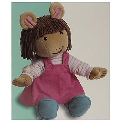 5Star-TD 22' Jumbo Talking Arthur D.W. Plush Doll Actimates: Toys & Games