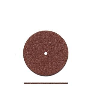 """Dedeco 5507 Elite Aluminum Oxide Separating Discs, 15/16"""" x 0.025"""" (Pack of 25)"""
