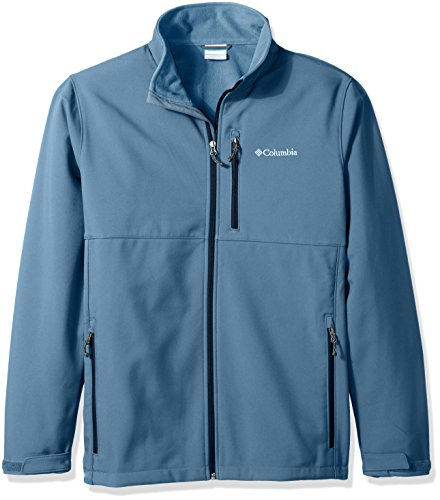Columbia Men's Ascender Big and Softshell Jacket, Steel, 2X/Tall by Columbia