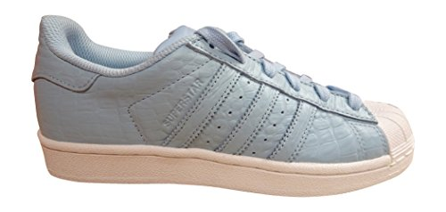 adidas Damen Superstar Sneaker, Schwarz, For Women CLESKY/FTWWHT S80550