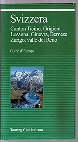 Cartina Geografica Canton Ticino Svizzera.Amazon It Svizzera Carta Stradale Scala 1 300 000 Touring Club Italiano Libri
