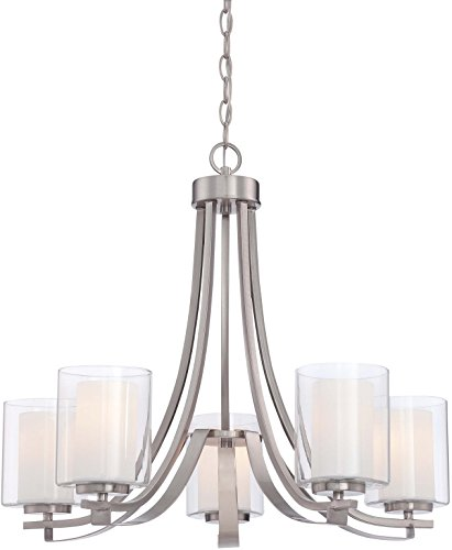 Minka Lavery Chandelier Pendant Lighting 4105-84, Parsons Studio Dining Room, 5 Light, -