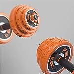 SHEHUIREN-Set-di-Manubri-15-kg-per-Uomini-E-Donne-con-Bilanciere-Perfetto-per-Bodybuilding-Fitness-Sollevamento-Pesi-A-Casa-E-in-Palestra