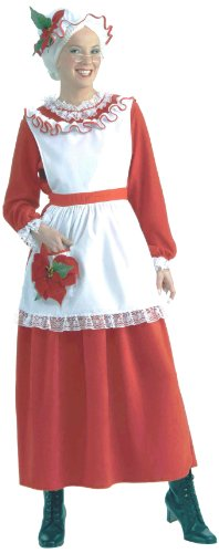 Forum Novelties Women's Mrs. Claus Christmas Costume, Multi, -