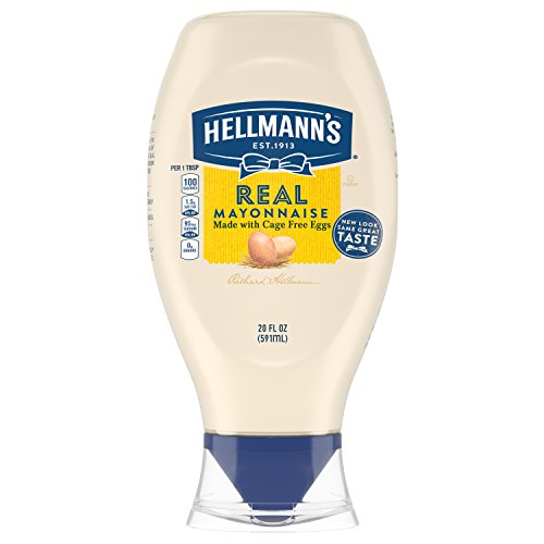 Hellmanns Real Mayonnaise  Squeeze  20 Oz