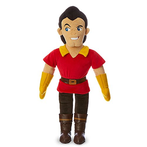 Disney Gaston Plush Doll - Beauty and - Medium - 20 1/2 Inch (Disney Villain Costume)