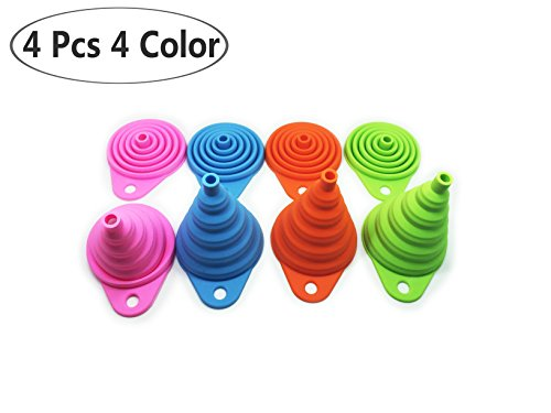 Silicone Funnels Set /Collapsible Funnel /Folding