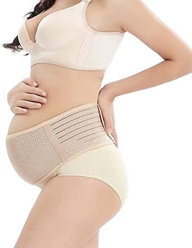 Doyeemei イージートゥウエストリリーフ マタニティベルト 腹部バンド 背中 快適な妊娠サポートベリーブレースウエスト Color 115cm