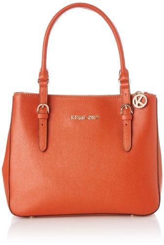 Kesslord Womens Suzie Top-Handle Bag Orange (Brique)