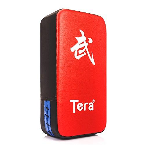 Tera PU Leather Rectangle Kicking Strike Punching Pad Arm Shield Target for Focus Training of Karate Muay Thai