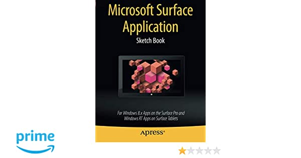 Microsoft Surface Application Sketch Book: For Windows 8