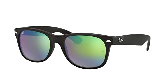 Amazon.com: Ray-Ban rb2132 nuevo Wayfarer Flash Series ...