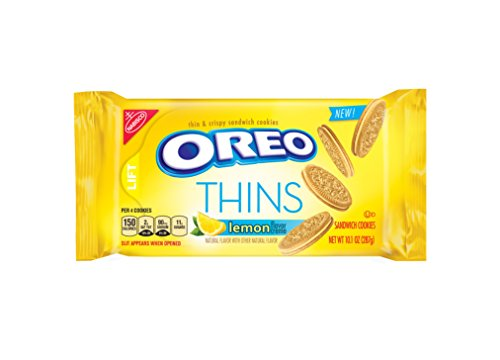 Oreo Golden Thins With Lemon Cream, 10.1 Ounce -