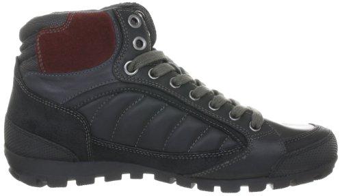 Geox Uomo Roccia U24X2A04323C0260 - Botas de cuero para hombre Negro