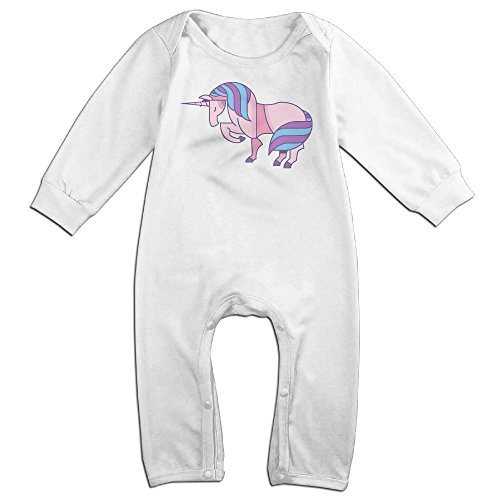 Woman Ebay Costume Devil (Infant Baby's Unicorns Long Sleeve Climb Jumpsuit 18 Months)