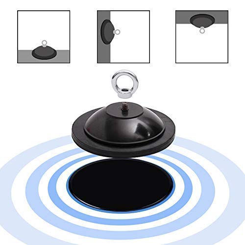 - COSA MEJOR Powerful Suction Cup with Hanging Ring for Double-End Bag, Household Multi-Functional Suction Cup for Home Kitchen Bathroom Wall Hanging Supplies