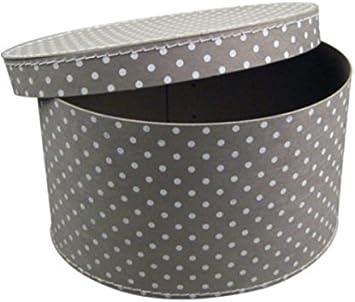Cajas de Cartón – Sombrereras ovalado Juego 33/37: Amazon.es: Hogar