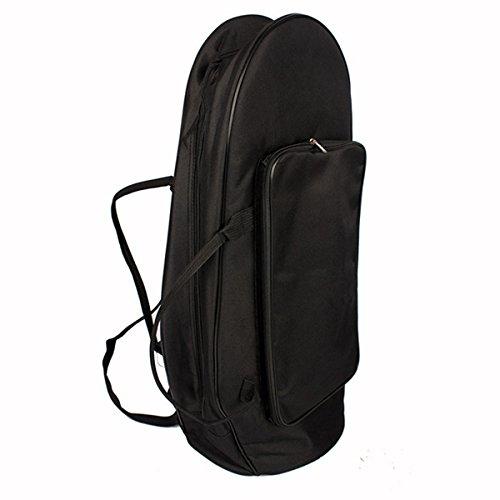 MAOFU Useful Tools Euphonium Gig Bag Euphonium Oxford Cloth Protection Bag w/Strap Black by MAOFU (Image #3)