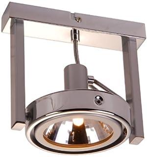 Deckenstrahler 1 Flammig Beweglich Decken Spot Halogen Leuchte Deckenlampe Retro Deckenleuchte Deckenlicht