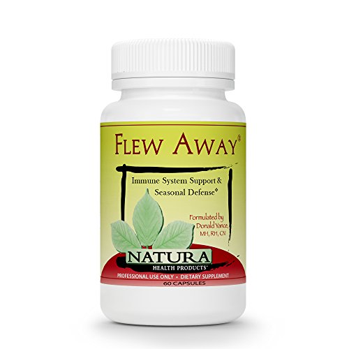 Natura Health Products – Flew Away – Immune System Support & Seasonal Defense Featuring Elderberry Extract – 60 Capsules Review
