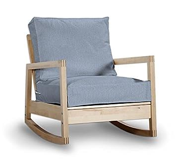 Saustark Design Bahama Cover For Ikea Lillberg Armchair Rocking Chair Blue