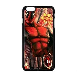 Valiant Warrior Deadpool Cell Phone Case for iPhone plus 6