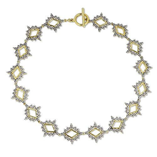 nOir Jewelry Northern Lights Necklace White Opal/Gold Size Os -