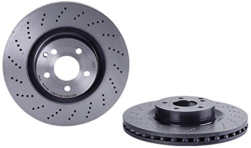 Brembo 09.B746.51 UV Coated Front Disc Brake Rotor