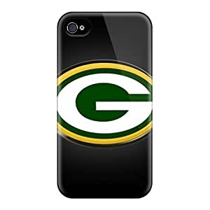 DateniasNecapeer Scratch-free Phone Cases For Iphone 6plus- Retail Packaging - Green Bay Packers