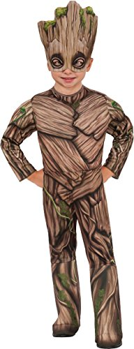 Rubie's Costume Guardians Of The Galaxy Vol. 2 Toddler Deluxe Groot Costume, Multicolor, X-Small - Guardians Of The Galaxy Kids Costumes
