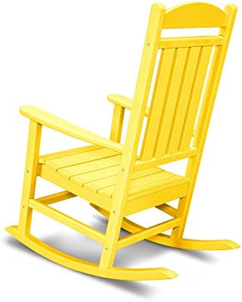 POLYWOOD R100LE Presidential Outdoor Rocking Chair