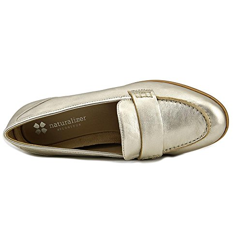 Naturalizer Women's Veronica Penny Loafer Platina Leather Di1VCuf