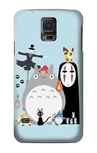 S1126 Totoro Mononoke Case Cover For Samsung Galaxy S5