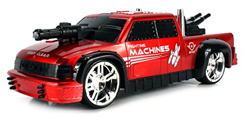 Fighting Machines Ford Pickup Remote Control RC Truck 1:16 Scale Ready to Run RTR w/ Bright Lights, Realistic (Muscle Machines Rc)