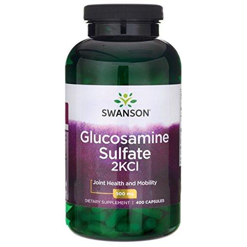 Glucosamine 500 Mg Capsules - Swanson Glucosamine Sulfate 2Kcl 500 Milligrams 400 Capsules
