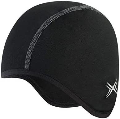 BALEAF Thermal Cycling Cap Under Helmet Liner Skull Cap with Ear Cover