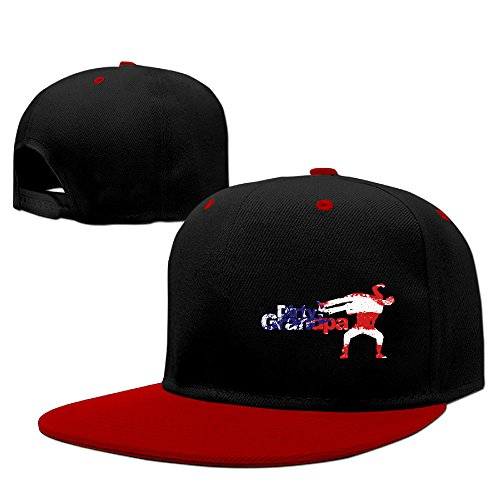 Custom Fashion Snapback Film Joy Story Poster Hiphop CapHat Red (Galaxy S5 Red Film)