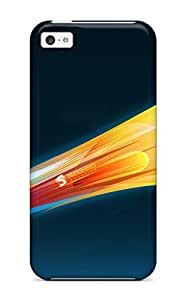 New Iphone 5c Case Cover Casing(fire Rocket)