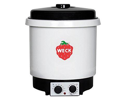 Weck WAT 35, macchina per conserve, in plastica con timer e griglia