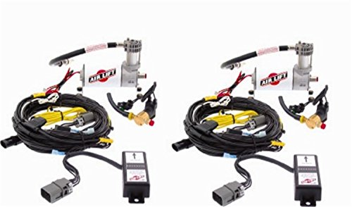 [AIR LIFT 25430 SmartAir Dual Automatic Leveling System] (Ford Explorer Air Suspension)