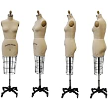 Professional Female half Body Dress Forms For Dressmaker Collapsible Shoulder With 1 Free Arm (ST-SIZE6)