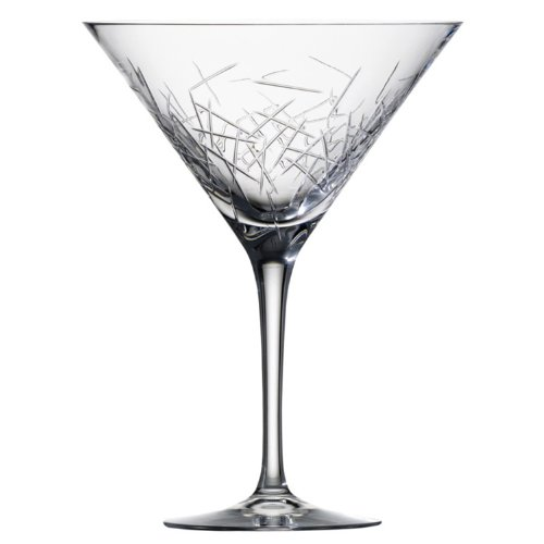 10 Ounce Flute Glass (Zwiesel 1872 Charles Schumann Hommage Collection Glace Handmade Glass Martini, Cocktail Glass, 10-Ounce, Set of 2)