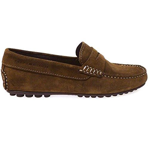 Tommy Hilfiger Zapatos Hombre Mocasines Naúticos Amalfi1b Cuero: Amazon.es: Zapatos y complementos