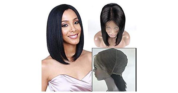 Amazon.com: FDX peluca frontal de encaje ondulada, 13 x 4 ...