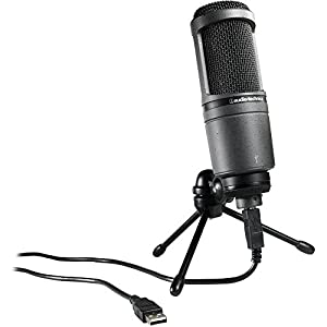 Audio-Technica AT2020 USB Condenser USB Microphone from Audio-Technica